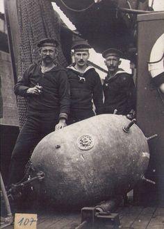 WW1 water mine