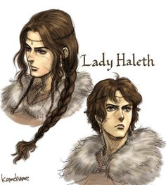 Haleth has always been one of my favorite characters from The Silmarillion
