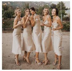 Bridesmade Dresses, Champagne Bridesmaid Dresses, Bridesmaid Dress Styles, Bridesmaids And Groomsmen, Wedding Bridesmaids, Burgundy Bridesmaid, Pageant Dresses, Wedding Dresses, Before Wedding