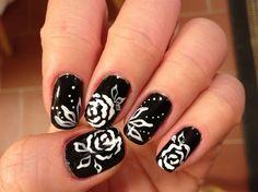 Rose by kimiewong - Nail Art Gallery nailartgallery.nailsmag.com by Nails Magazine www.nailsmag.com #nailart