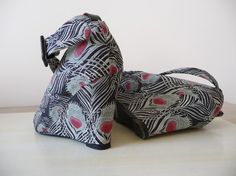 Fabric Covered Shoes; Cover your shoes with the fabric you like.... isn't that just the greatest idea By BurdaStyle