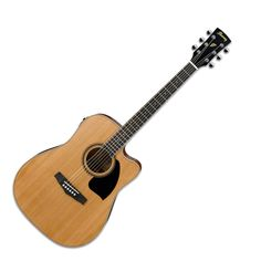 Ibanez PF17ECE Dreadnought Cutaway Electro Acoustic Guitar, Low Gloss at Gear4Music.com