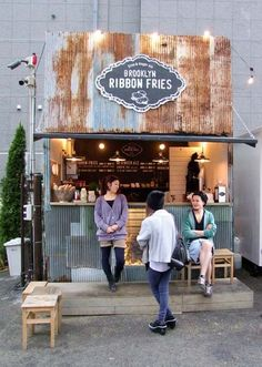Food Truck cafe style | brich and mortat cafe company w wired cafe fit