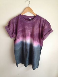 Hey, I found this really awesome Etsy listing at http://www.etsy.com/listing/129645261/dip-dye-tie-dye-t-shirt-unisex-purple