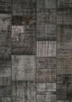 Grey Vintage Patchwork- An awesomely grungy rug  Luxury Rugs London