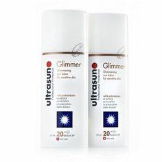 Ultrasun Glimmer SPF20 150ml Duo
