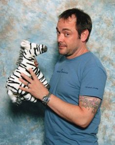 Mark Sheppard--Badger on Firefly, Romo Lampkin on BSG, Crowley on Supernatural Mark Sheppard, Supernatural Tv Show, Jared And Jensen, Winchester Boys, Attractive People, Super Natural, Crowley, Best Shows Ever, Movie Stars
