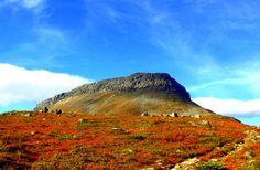 Saana Fjell (1029m), Kilpisjärvi