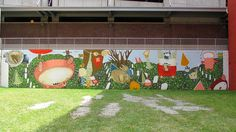 Vacant lot mural - Downtown Akron, Ohio