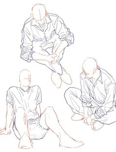Ideas for drawing people sitting pose reference Drawing Base, Manga Drawing, Drawing Sketches, Art Drawings, Drawing Tips, Drawing Techniques, Anime Poses Reference, Figure Drawing Reference, Sitting Pose Reference