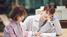 Park hyung sik and park bo young strong woman do bong soon drama ❤❤ Park Bo Young, Strong Girls, Strong Women, Strong Woman Do Bong Soon Wallpaper, Super Power Girl, Ahn Min Hyuk, Kdrama, Two Worlds, Weightlifting Fairy