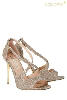 Buy Lipsy Glitter Peep Toe Heels from the Next UK online shop