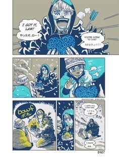 Ope Ope no mi - Trafalgar D. Water Law Donquixote Rocinante (Corazon) (Corasan, Cora-san) One Piece
