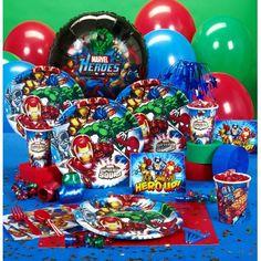 Marvel Super Hero Squad Party Supplies