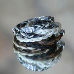 Horse hair bracelets!