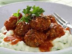 Porcupine Meatballs - bake or use pressure cooker recipe
