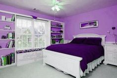 Love this purple room!!!
