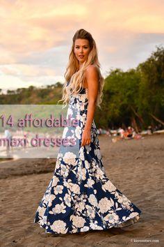 Affordable Maxi Dresses - Kier Couture