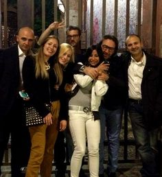 Team Autokm0.tv con #PaoloManganiello #ChristianMartinelli #GiuseppePerito aspettando #ADD14 @PitstopAdvisor