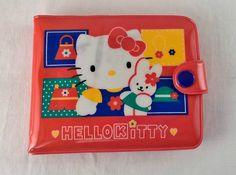 HELLO KITTY in vinile portafoglio annata 1996 sanrio di mimBOX