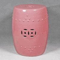 Pink Garden Stool * Sold Out / Production Ended