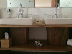 Lodge room #1 at Poas Volcano Lodge. Bathroom.