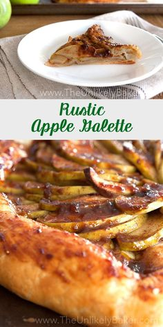 This delightfully rustic apple galette recipe is so easy to pull off. Have delic… This delightfully rustic apple galette recipe is so easy to pull off. Have delicious apple tart full of the warm, cozy flavours of fall in no time. Tart Recipes, Apple Recipes, Great Recipes, Favorite Recipes, Cheese Recipes, Amazing Recipes, Apple Desserts, Easy Desserts, Delicious Desserts