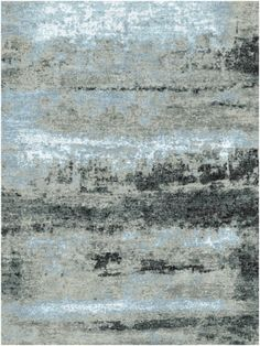 Exceptionally lustrous and luxurious our 10501 rugs in design NK41 are skillfully knotted by hand in India using premium wool and silk to create rich visual texture and a soft pile finish Even shearing creates a thick rug that feels extraordinarily soft underfoot Each artisanal rug from our contemporary Organic Collection is a unique abstract piece that offers exceptionally long wearp