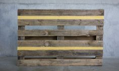 Daniel Silva - Untitled (pallet and beeswax)