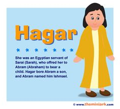 Meet Hagar, she is the first biblical woman to whom an angel of the Lord spoke directly. Who is she? She is an Egyptian maidservant of Sarai, who gave her to Abram to bear a child.