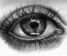 Eye drawn in 35 mins by Kate Powell Art Wolf Tattoos, Body Art Tattoos, Sleeve Tattoos, Tattoo Sketches, Tattoo Drawings, Ojo Tattoo, Realistic Eye Tattoo, Tattoo Gallery, Eyes Artwork