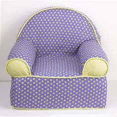 Cotton Tale Periwinkle Baby's 1st Chair