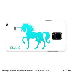 Dancing Unicorn Silhouette Phone Case Galaxy Note 4 Case
