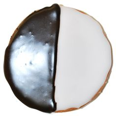 The Black and White Cookie Black And White Cookies, Eat Cake, Bakery, Childhood, Sweets, Drinks, Desserts, Food, Drinking