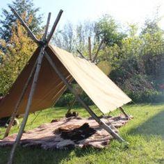 Natural Play tent