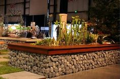 gabion raised beds | Build raised beds, benches and gabion fence itself – gabions in the ...