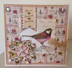 Craftwork Cards Botanica kit Jackies house of cards