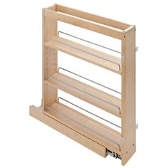Base pull out spice rack cabinet fits 9 inch full height for 10 deep floor cabinet