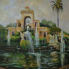 """""""Cascada del Parque de la Ciudadela"""""""
