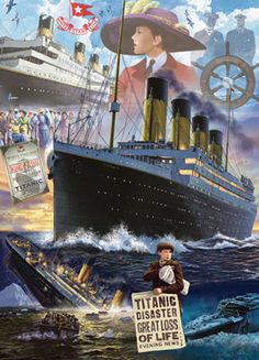 The Titanic Boats Jigsaw Puzzle