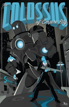 The Colossus of Empire City by MikeMahle on deviantART