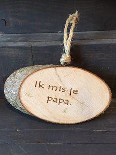 Ik mis je papa, Herdenk-engel - Herdenk-Engel