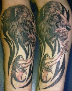 Leo and Virgo Tattoo