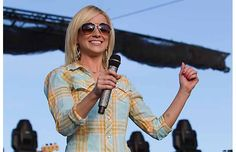 Kellie Pickler performs on the mainstage at the Big Valley Jamboree