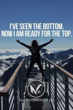 I am ready for the top.Follow all our motivational and inspirational quotes. Follow the link to Get our Motivational and Inspirational Apparel and Home Décor. #quote #quotes #qotd #quoteoftheday #motivation #inspiredaily #inspiration #entrepreneurship #goals #dreams #hustle #grind #successquotes #businessquotes #lifestyle #success #fitness #businessman #businessWoman #Inspirational