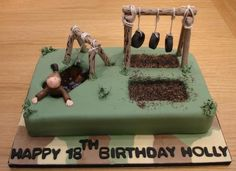 Trendy Birthday Cake Awesome Gift Ideas Trendy Birthday Cake Awesome Gift Id Army Birthday Cakes, Army Birthday Parties, Army's Birthday, Army Cake, Military Cake, Military Party, Military Mom, Fondant Cakes, Cupcake Cakes