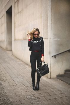30 Stylish Ways To Wear The Color Red | StyleCaster