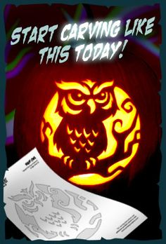 Zombie Pumpkins - Pumpkin Carving Stencils - The best website to buy patterns from. Plus if you pay to have access to them all, some of the money goes to charity.