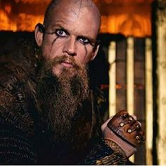 Floki. Had the right idea about Christianity! I fully support the burning of the church.....