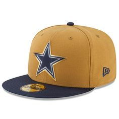 2d40e6a56 New Era Dallas Cowboys Gold Gold Collection 59FIFTY Fitted Hat